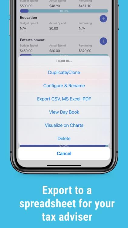 iSaveMoneyGo: Spending tracker screenshot-3