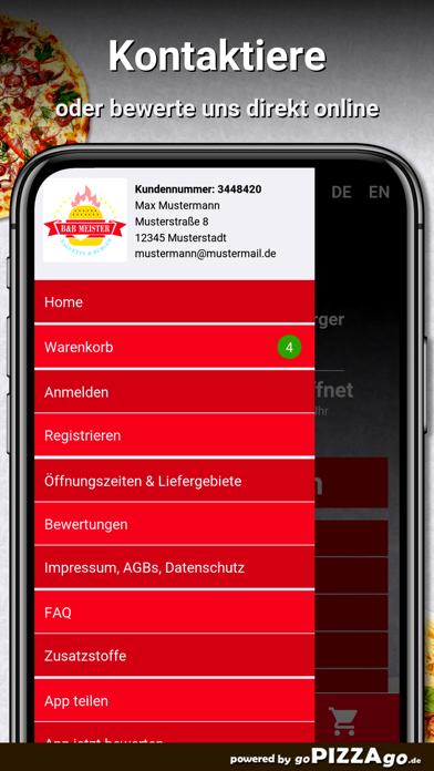 B&B Meister Baguette & Burger screenshot 3
