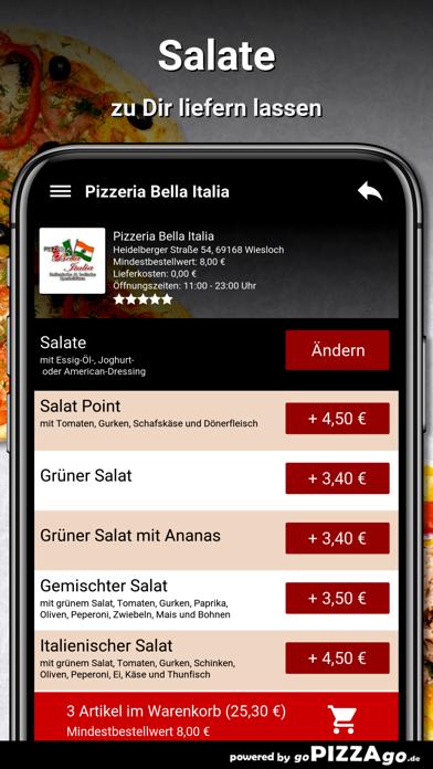 Pizzeria Bella Italia Wiesloch screenshot 5