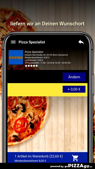 Pizza Spezialist Bonn screenshot 6