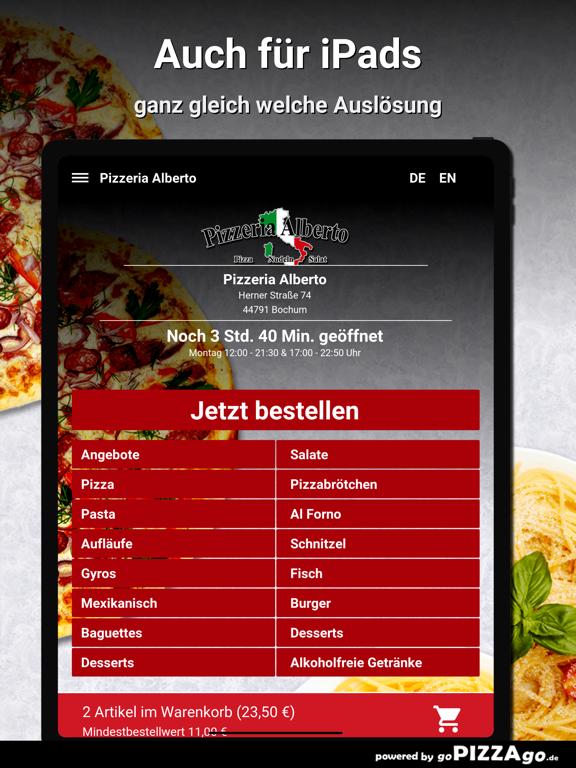 Pizzeria Alberto Bochum screenshot 8