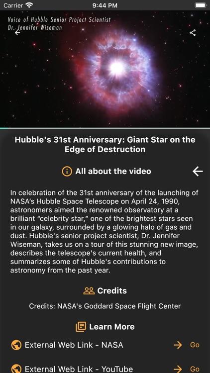 Hubble: Deep Space PRO screenshot-8