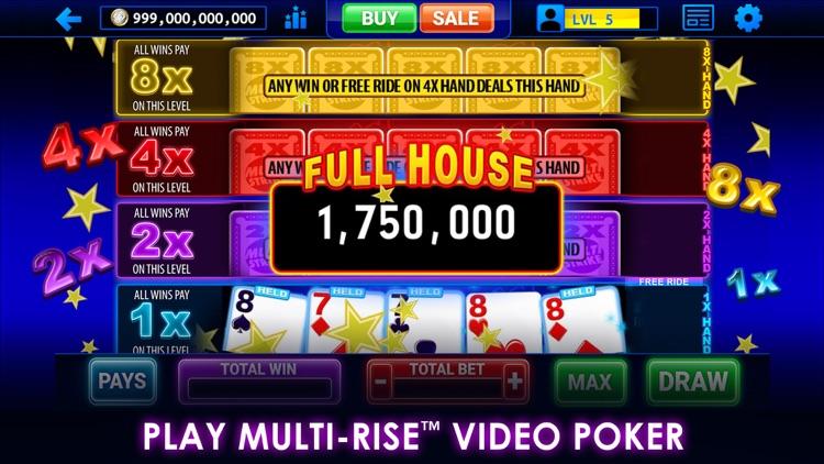 Multi-Play Video Poker screenshot-0