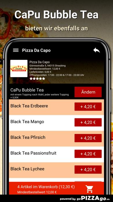 Pizza Da Capo Straubing screenshot 6