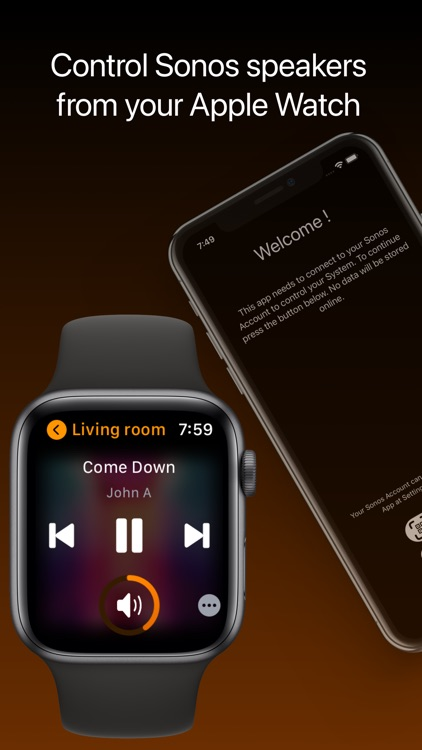 Lyd - Watch Remote for Sonos screenshot-0