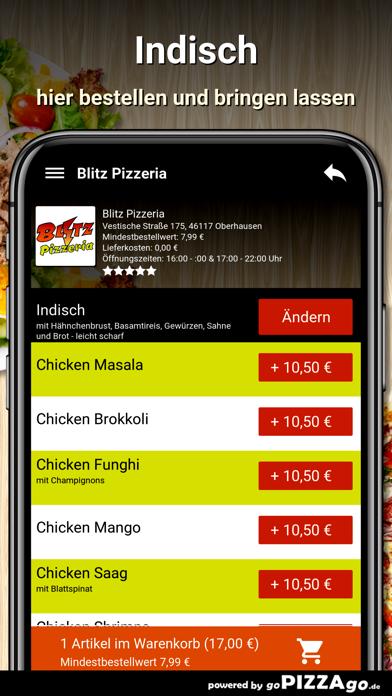 Blitz Pizzeria Oberhausen screenshot 6