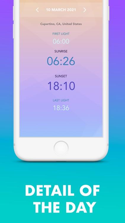 Sunrise & Sunset Times: SunLog screenshot-3