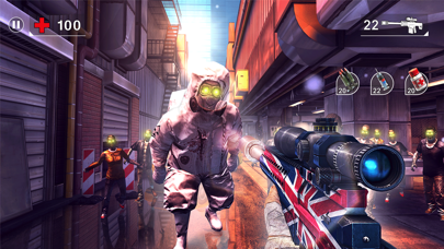 Screenshot from UNKILLED - Zombie Online FPS