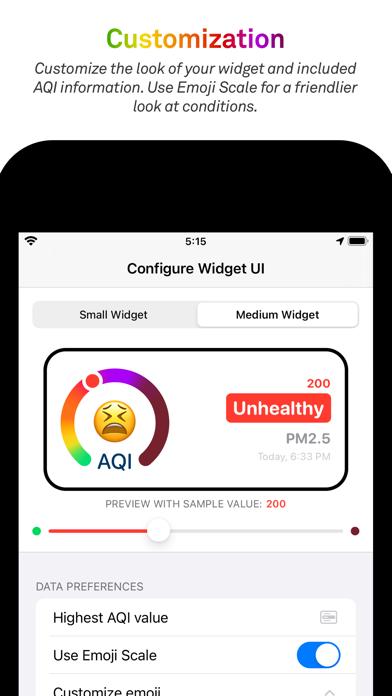 Breathable Air Quality Widgetのおすすめ画像2