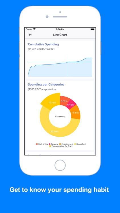 iSaveMoneyGo: Spending tracker screenshot-4