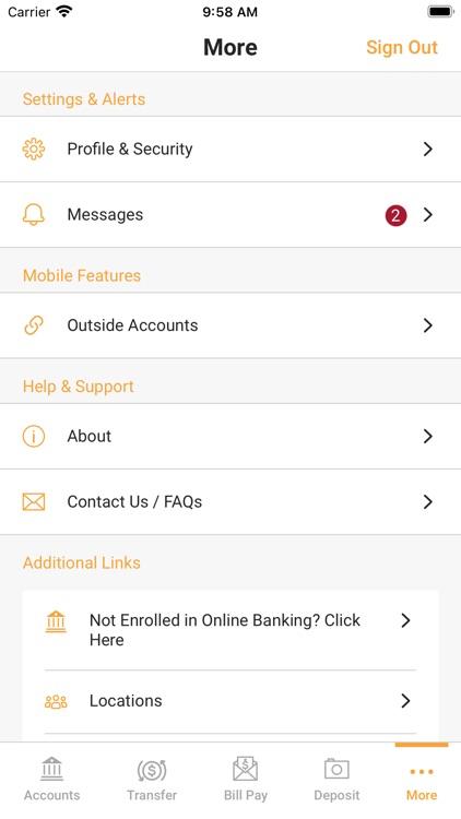Covington County Bank Mobile screenshot-3