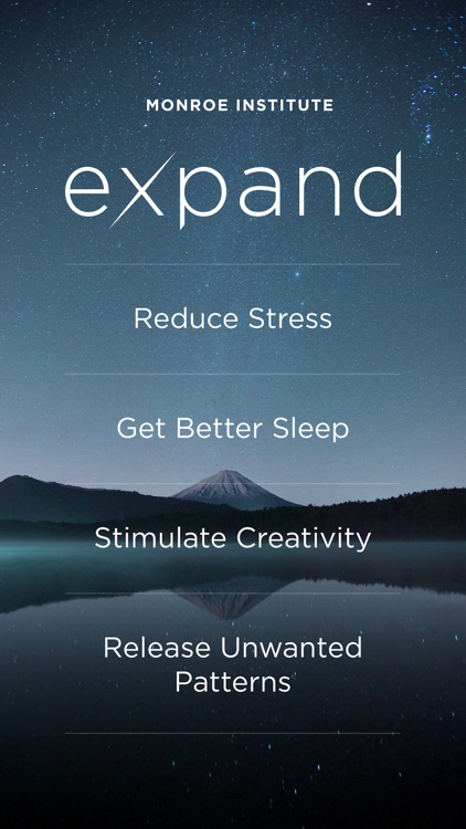 Expand: Beyond Meditation