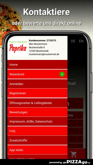 Pizzeria Paprika Bremen Hemeli screenshot 3