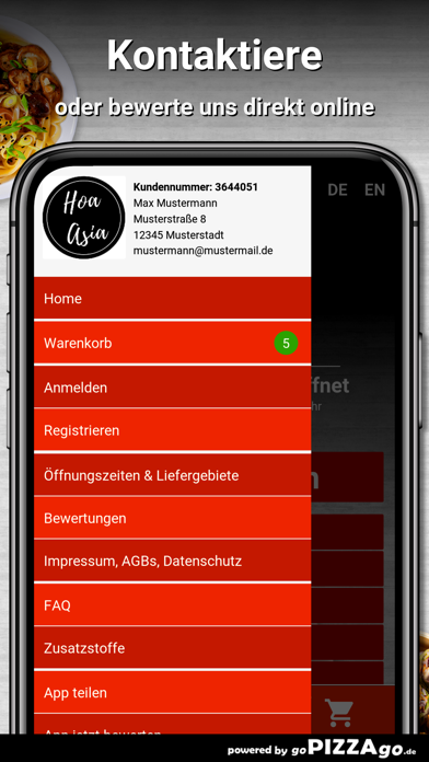 Hoa Asia Restaurant Hannover screenshot 3