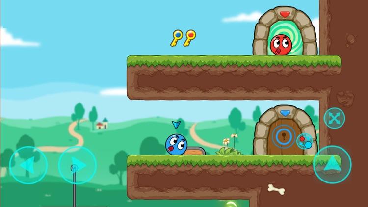 Red and Blue Ball screenshot-5