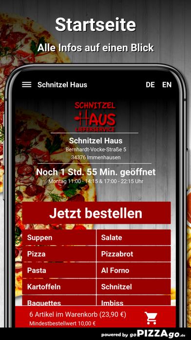 Schnitzel Haus Immenhausen screenshot 2