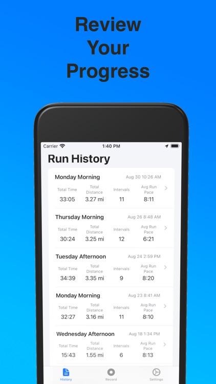 Interval Running - Runervals screenshot-4
