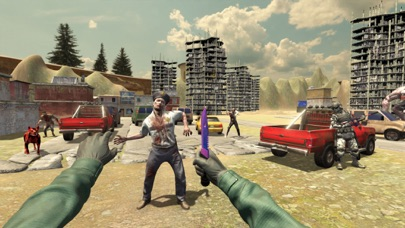 Army Of The Dead 3D- MMORPG screenshot 2