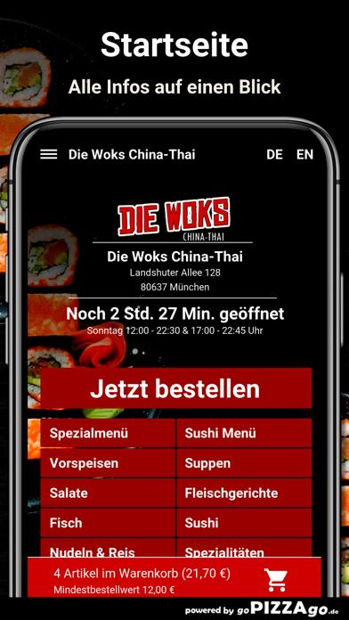 Die Woks China-Thai München screenshot 4