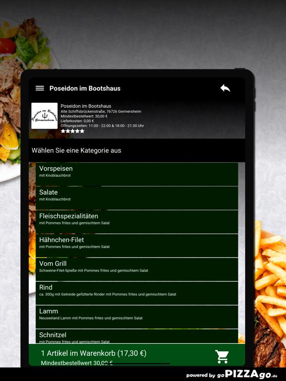 Poseidon im Bootshaus Germersh screenshot 8