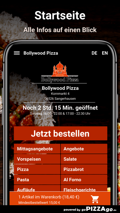 Bollywood Pizza Sangerhausen screenshot 2