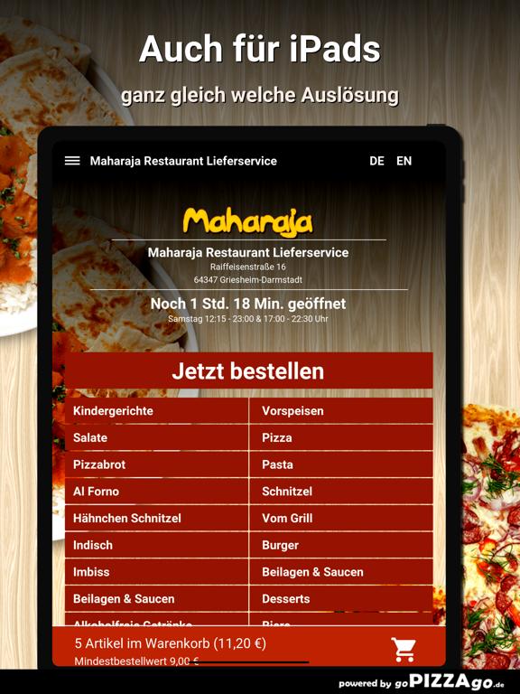 Maharaja Restaurant Liefer screenshot 7