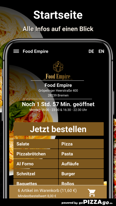 Food Empire Bremen screenshot 2