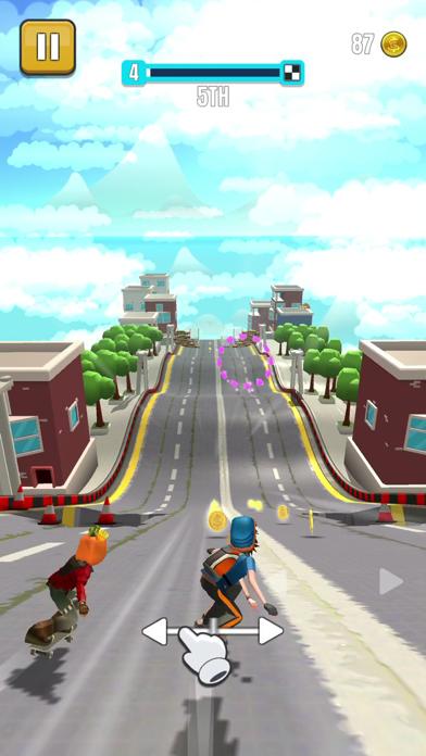 Faily Skater Street Racer screenshot 1