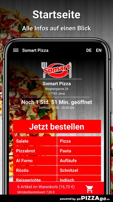 Somart Pizza Jena screenshot 2