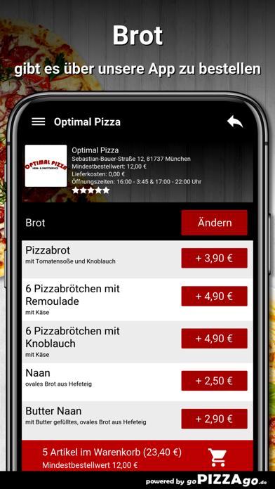 Optimal Pizza München screenshot 6