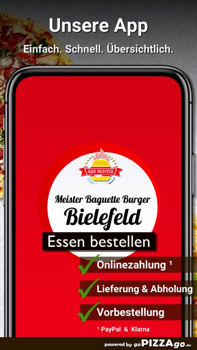 B&B Meister Baguette & Burger screenshot 1