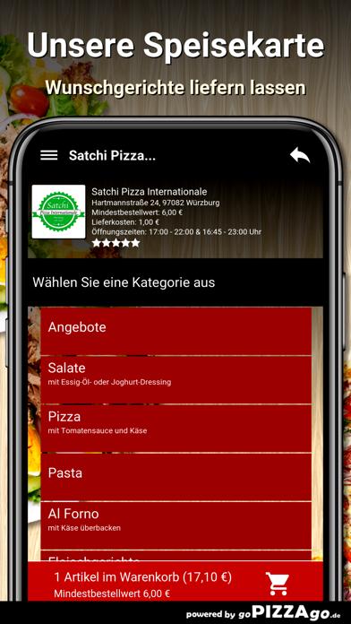 Satchi Pizza Würzburg screenshot 4