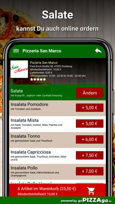 Pizzeria San Marco Duisburg screenshot 2