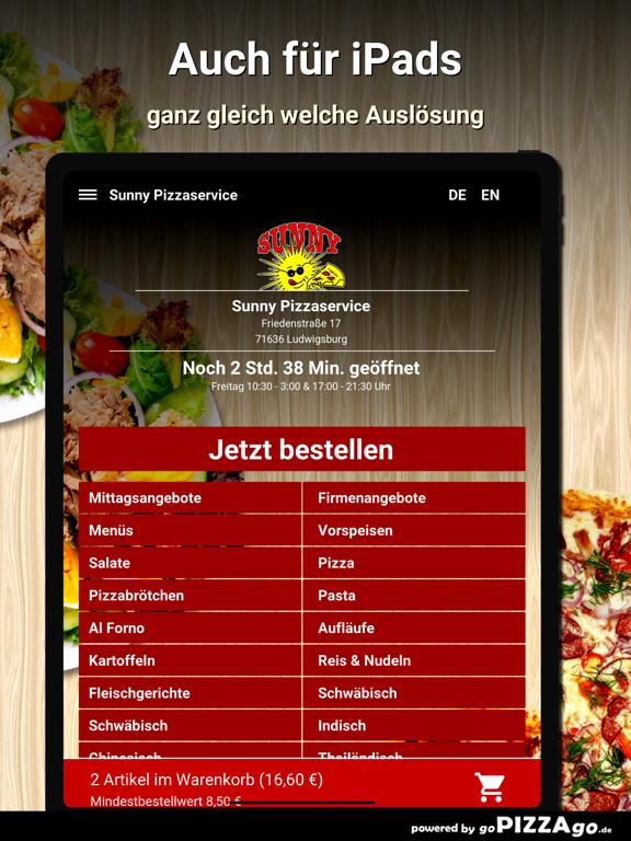 Sunny Pizzaservice Ludwigsburg screenshot 7