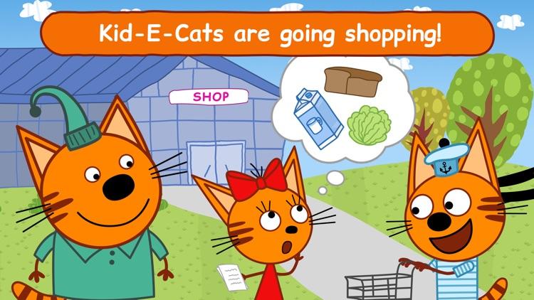 Kid-E-Cats: Supermarket Game! screenshot-0