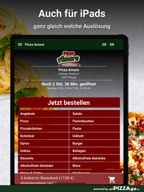 Pizza Amore Pfinztal screenshot 7