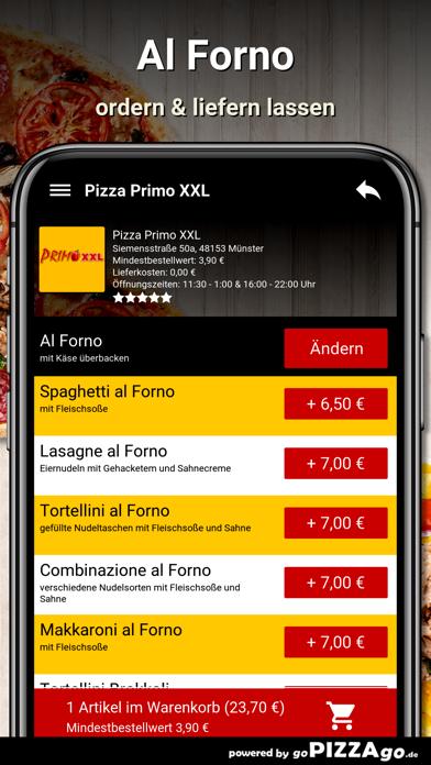 Pizza Primo XXL Münster screenshot 6