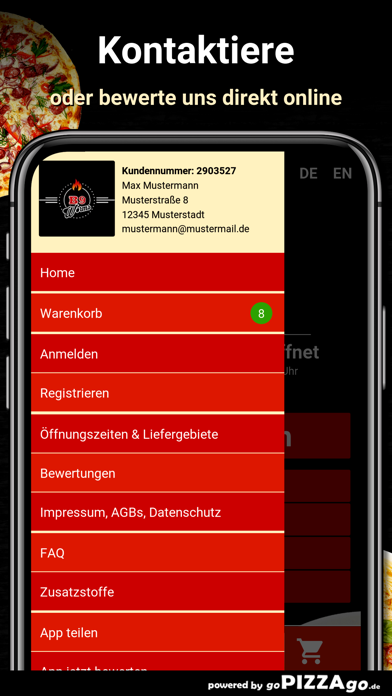 B9 Pizzaservice Worms screenshot 3