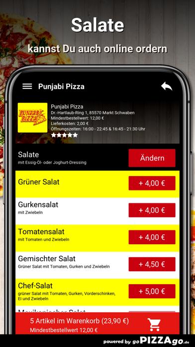 Punjabi-Pizza Markt Schwaben screenshot 5
