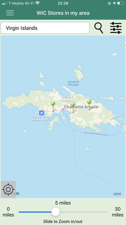 Virgin Islands WIC screenshot-4