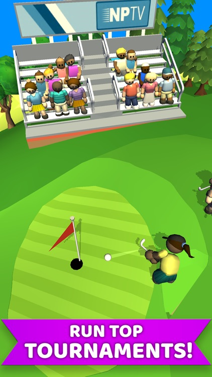Idle Golf Club Manager Tycoon screenshot-3