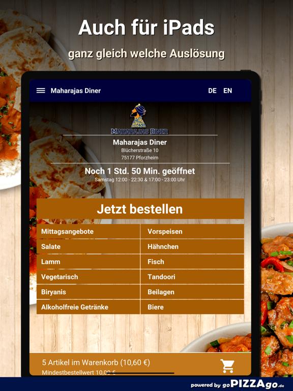 Maharajas Diner Pforzheim screenshot 7