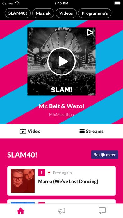 SLAM! iPhone app afbeelding 1