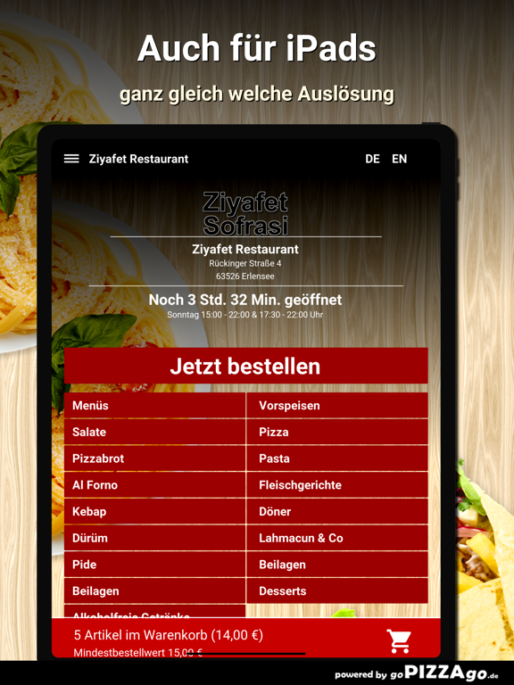 Ziyafet Restaurant Erlensee screenshot 7