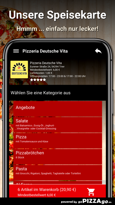 Pizzeria Deutsche Vita Trier screenshot 5