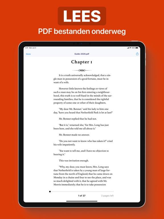 PDF iPad app afbeelding 4