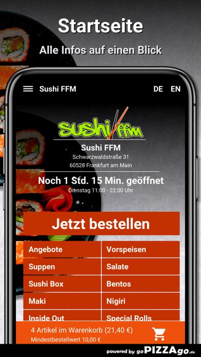 Sushi FFM Frankfurt am Main screenshot 2