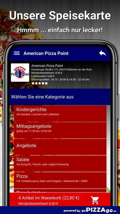 American Pizza Point Mülheim screenshot 4