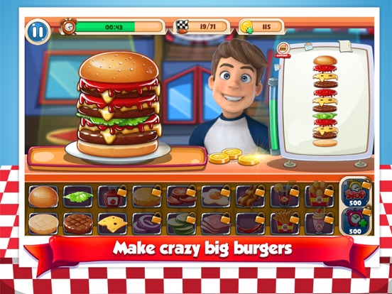 Burger Chef – Restaurant Games screenshot 10