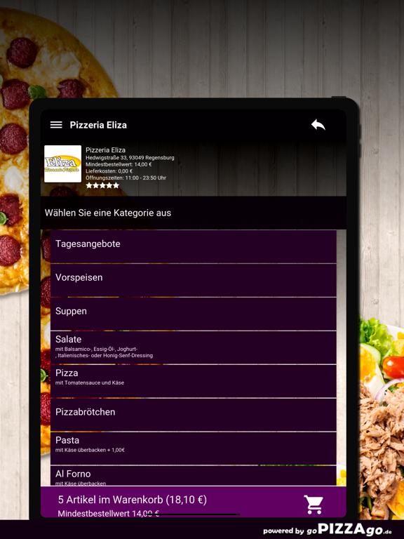 Pizzeria Eliza Regensburg screenshot 8
